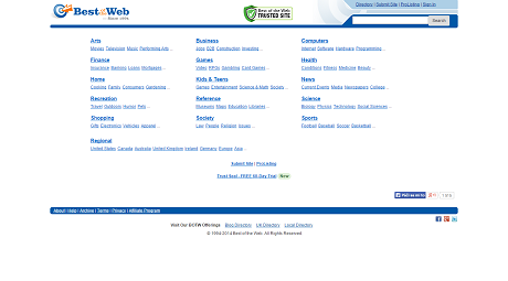 Best of the Web Directory' - botw_org